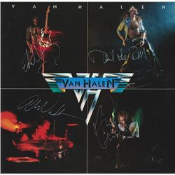 """Van Halen """"Van Halen"""" Signed Album"""