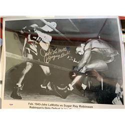 """Jake LaMotta """"Raging Bull"""" Signed Photo"""