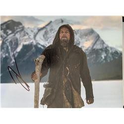 DiCaprio Signed 8x10 Revenant Photo