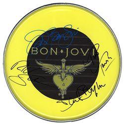 Bon Jovi Signed Drum Head