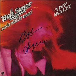 """Bob Seger """"Live Bullet"""" Signed Album"""