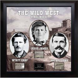 Wild West Gunslingers Collage