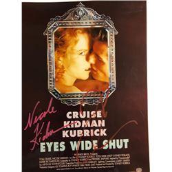 Eyes Wide Shut Signed Mini Poster