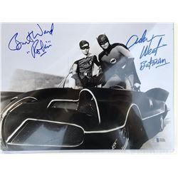 Batman and Robin Signed Photo