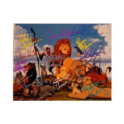 The Lion King Cast Signed Photo