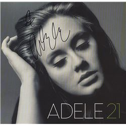"Adele ""21"" Signed Album"
