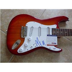 PSA/DNA Marilyn Manson Signed Guitar