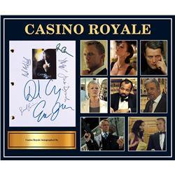 Casino Royale Signed Script