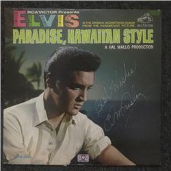 "Elvis Presley ""Paradise, Hawaiian Style"" Signed Album"