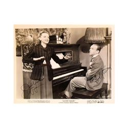 """Judy Garland, Fred Astaire """"Easter Parade"""" Signed Lobby Card"""