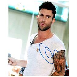 Adam Levine Signed Photo