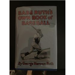 """Babe Ruth """"Book of Baseball"""" Signed Special Edt. Book"""