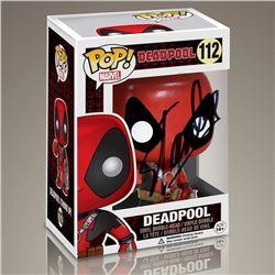 """Stan Lee """"Deadpool"""" Signed Funko Pop"""