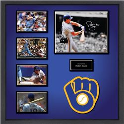 Robin Yount Signed Photo Collage