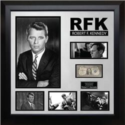 RFK Signed US Silver Certificate Collage
