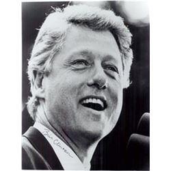 Bill Clinton Signed Photo