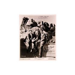 "Cary Grant, James Mason ""North by Northwest"" Signed Photo"