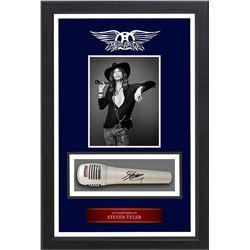 Steven Tyler Autographed Microphone