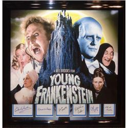Young Frankenstein Signature Cut Collage