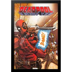Deadpool Signed Comic-Style Movie Poster