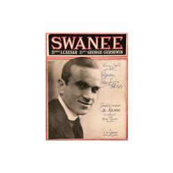 "George Gershwin ""Swanee"" Signed Album"