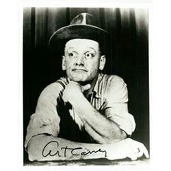 "Art Carney ""The Honeymooners"" Signed Photo"