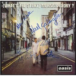 """Oasis """"What's The Story Morning Glory"""" Signed Album"""