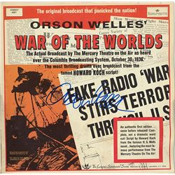 """Orson Welles """"War of the Worlds"""" Signed Album"""