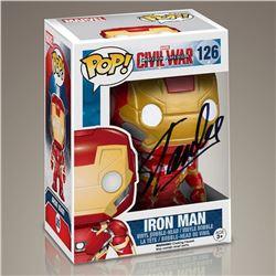 "Stan Lee ""Iron Man"" Signed Funko Pop"