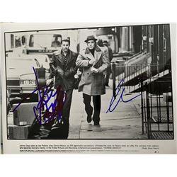 Pacino & Depp Signed B&W 8x10 Donnie Brasco Photo