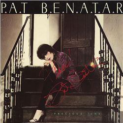 """Pat Benatar """"Precious Time"""" Signed Album"""