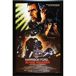 Blade Runner Signed Movie Poster