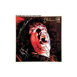 """Joe Cocker """"With a Little Help From My Friends"""" Signed Album"""