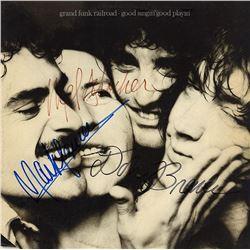 "Grand Funk Railroad ""Good Singin Good Playin"" Signed Album"