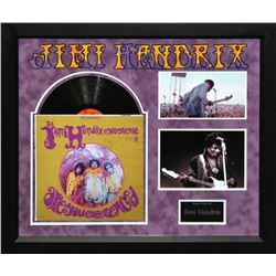 """Jimi Hendrix """"Are You Experienced"""" Signed Album"""