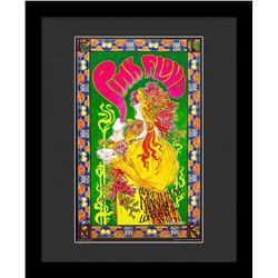 """Bob Masse """"Pink Floyd"""" Framed Poster"""