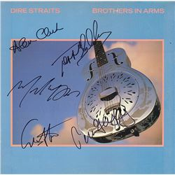 """Dire Straits """"Brothers in Arms"""" Signed Album"""