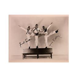 """Frank Sinatra and Gene Kelly """"On the Town"""" Signed Photo"""