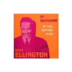 "Duke Ellington ""At the Cotton Club"" Signed Album"