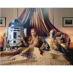 Amy Schumer with Star Wars Signed Photo