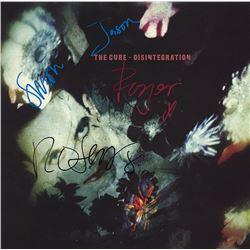 "The Cure ""Disintegration"" Signed Album"