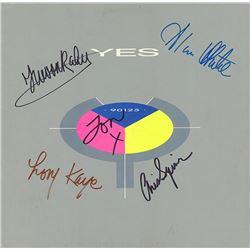 """Yes """"90125"""" Signed Album"""