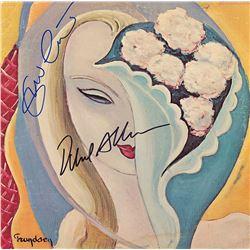 Eric Clapton Duane Allman Signed Layla Album