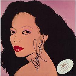 """Diana Ross """"Diana Ross"""" Signed Album"""