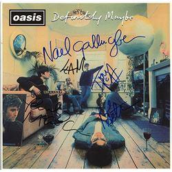 """Oasis """"Definitely Maybe"""" Signed Album"""
