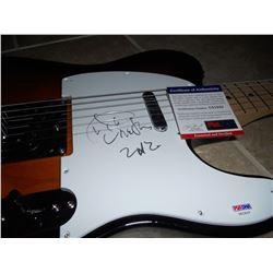PSA/DNA Aretha Franklin Signed Guitar