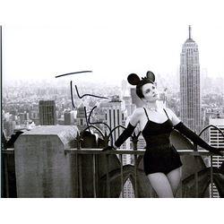Tina Fey Signed B&W Photo