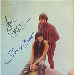 Sonny And Cher Signed Sonny And Cher's Greatest Hits Album