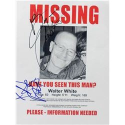 """Breaking Bad Signed """"Missing"""" Photo"""