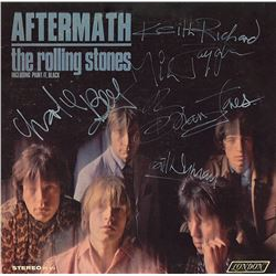 """Rolling Stones """"Aftermath"""" Signed Album"""